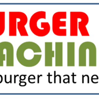 Redesign of the Burger Machine logo.