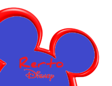 Rerto Disney Channel Logo