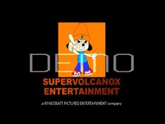 SuperVolcanoX Entertainment Logo