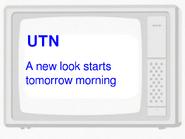 Utn promo - bbc three launch promo 2003 - new look starts tomorrow morning (january 4 2013)