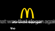 MCDONALDS 2003 spoof what was that slogan again