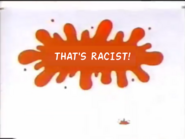 Nickelodeon id spoof from thha22m - racist