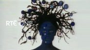 Rte one blue lady with ugly hair