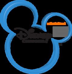 Disney Channel on Electric Network Logo