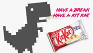 KitKat Chrome Dino Commerical