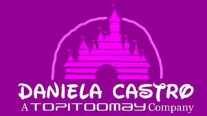 Daniela Castro Walt Disney Style Logo 2014