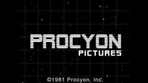 Procyon Pictures (Alternative logo 1981)