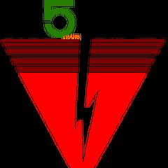 5th anniversary logo (1984).