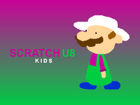 Scratch U8 Kids logo