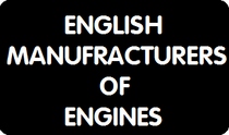 English manoufracturers of engines