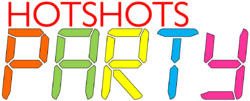 HotShots Party logo 2001