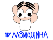 TV Môniquinha on an episode of Rede Mônica