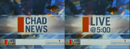 CHad news live at 5 with lower thirds