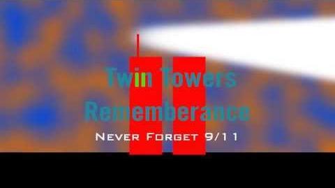 Twin towers Rememberance Logo