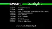 KWSB Tonight September 4, 2014