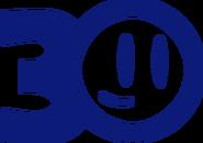 TheCuben2006 Channel 30 Years logo