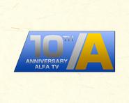Alfa TV 1993 Anniversary ID
