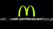 Mcdonalds 2003 spoof light green arches