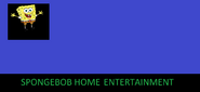 SpongeBob Home Entertainment first logo