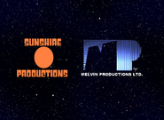 Sunshire and Melvin Productions 1985-1987 Logo