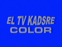 El TV Kadsre Color ID (1964, Early Version)