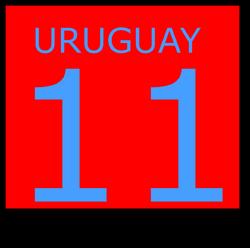 Uruguay 11 1983