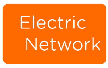 Electric Network Logo Orange