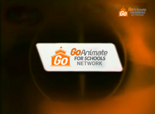 GoAnimate for Schools Network ident (2010-2013)(UPDATED)
