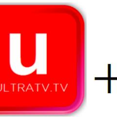 Ultra TV +1's logo in 2012-2013
