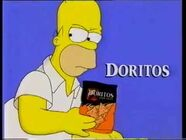 Doritos homer simpson