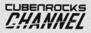 CubenRocks Channel print logo