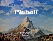 Pinball Logo 1970-1987