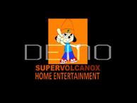 SuperVolcanoX Home Entertainment New Logo