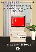 TS-Desk ad (1983)