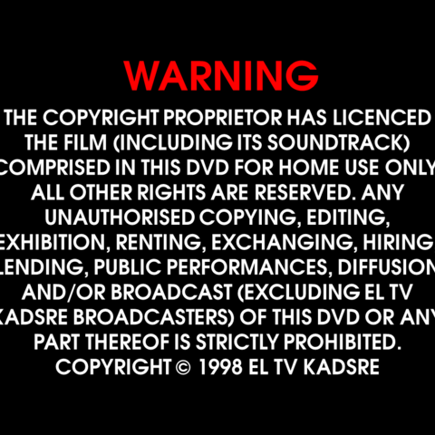 Used on all of their DVD releases