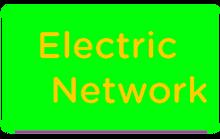 Electric Network Logo Green
