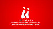 Ultra TV MAD farewell message 2014