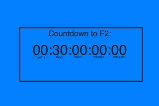 F2 countdown
