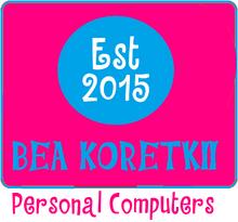 2018 Bea Koretkii Personal Computers Logo