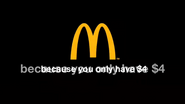 Mcdonalds 2003 logo spoof from thha22m - because you only have 4 dollars