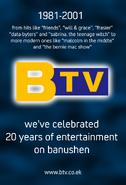 BTV 20th Anniversary Ad (2001)