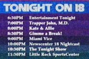 KWSB tonight 1984
