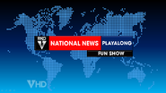 RKO National News Playalong Fun Show open on This Hour Has America's 22 Minutes