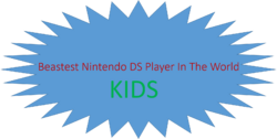 Beastest Nintendo DS Player In The World Kids (1989-1991)
