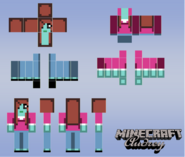 Audrey minecraft character