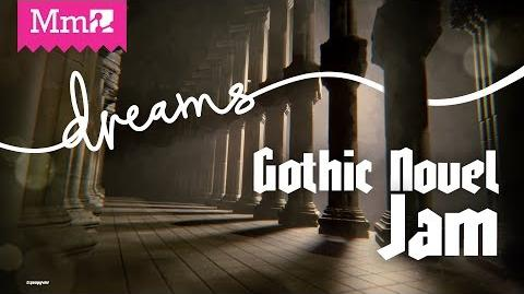 Gothic Novel Game Jam DreamsPS4