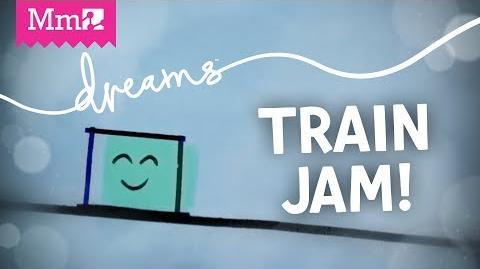 Made in Dreams Comic Sands - Train Jam 2018