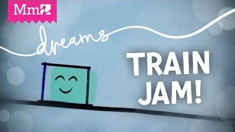 Made in Dreams Comic Sands - Train Jam 2018