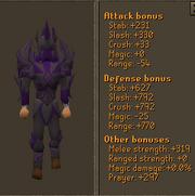 Elemental Torva Set Stats