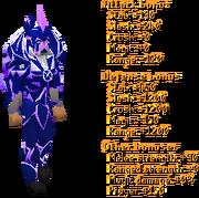 Blue Torva Set Stats